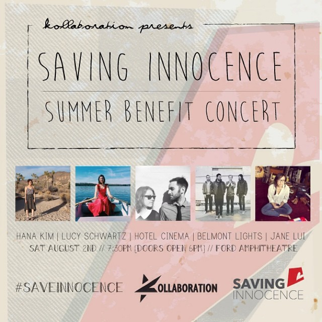 Saving Innocence summer concert