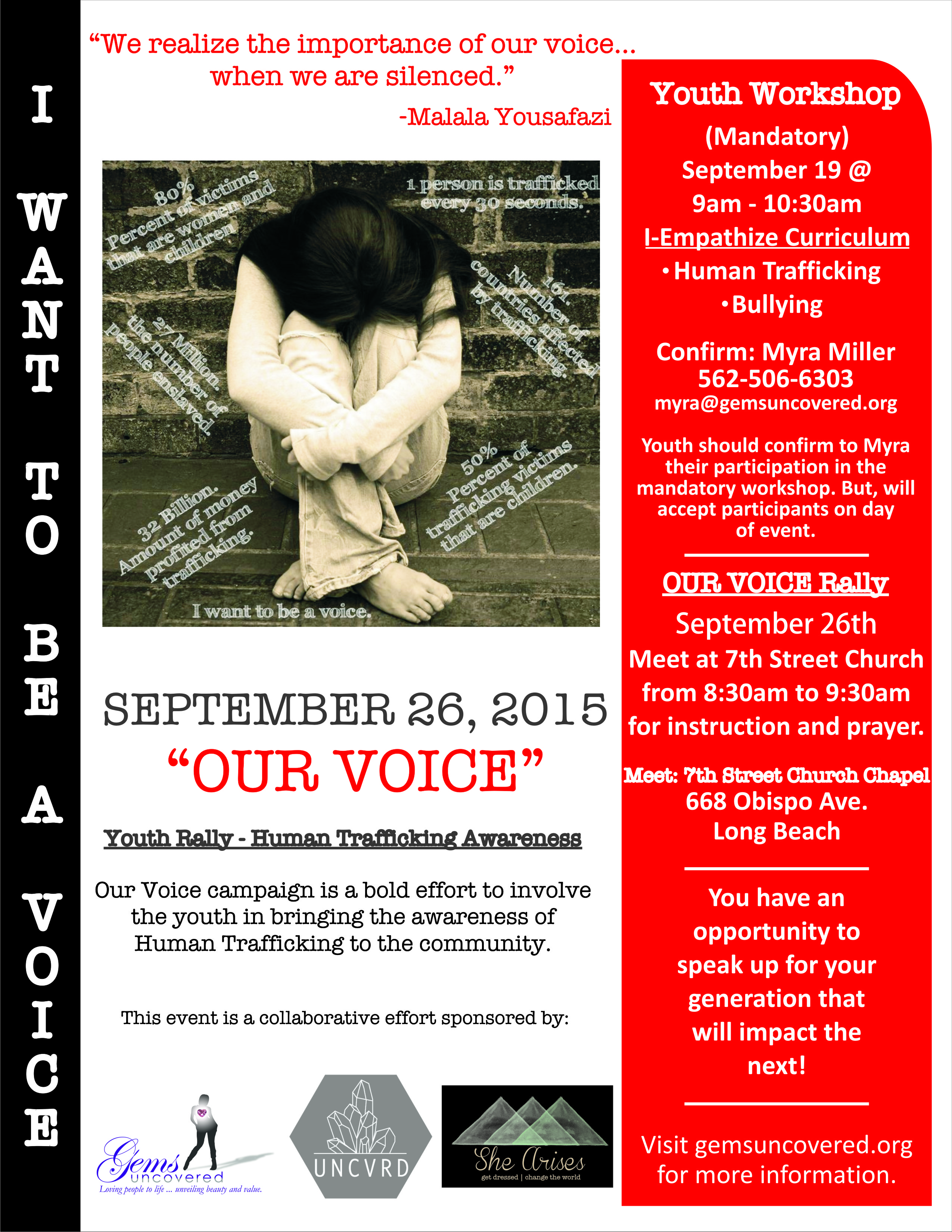 Our Voice Campaign - September 26